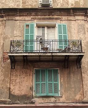 French Balcony by Sandra Cutrer