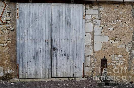 French Barn Door by Kate Stoupas