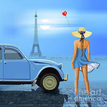 French blue by Monika Juengling