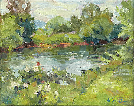 French Broad River Afternoon by Lisa Blackshear