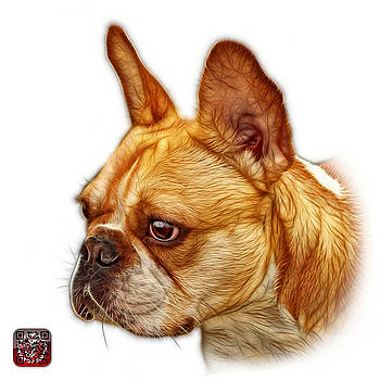 French Bulldog Pop Art - 0755 WB by James Ahn