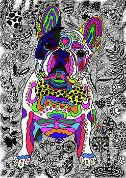 French Bulldog by ZileArt