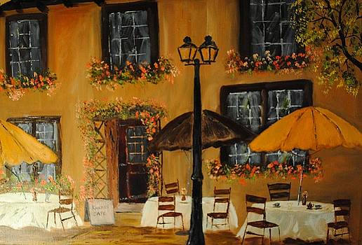 French Cafe by James Higgins