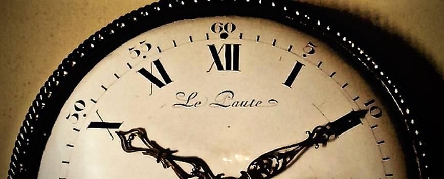 French Clock at Ten Past Ten by John Tschirch