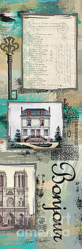 French Collage-D by Jean Plout