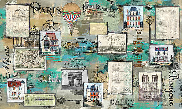 French Collage-A by Jean Plout