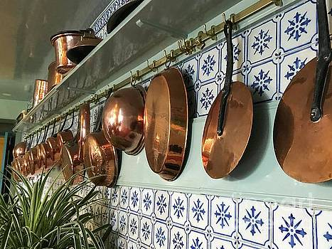 French Copper Pots by Nadine Rippelmeyer