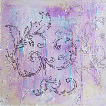 French country scroll by Jocelyn Friis