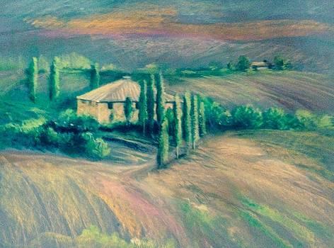 French Countryside by Judy Osiowy
