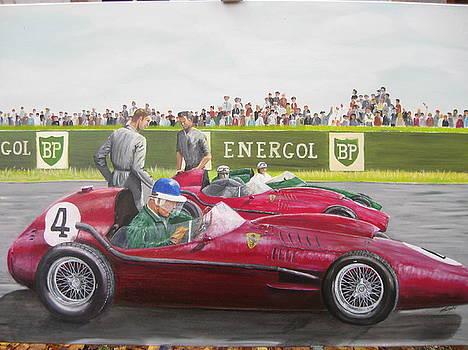 French Gp Reims 1958 by Chris Lambert