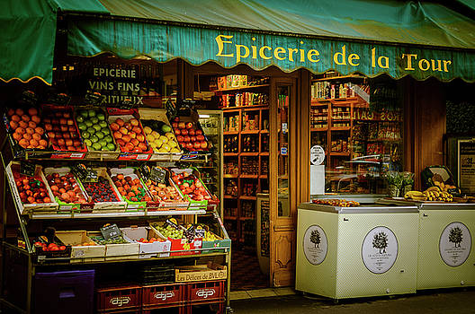 French Groceries by Paul Warburton