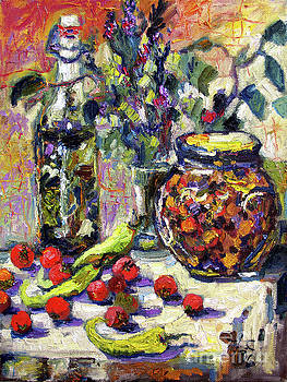 Ginette Callaway - French Provence Cooking Still Life