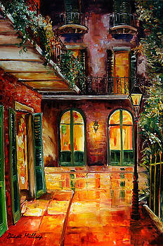 French Quarter Alley by Diane Millsap