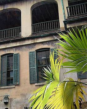French Quarter Building by Sandra Cutrer