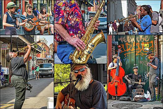 Steve Harrington - French Quarter Musicians Collage 2