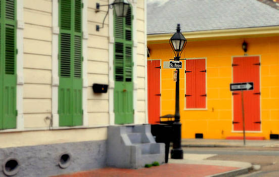 French Quarter Neighborhood by Ted Hebbler