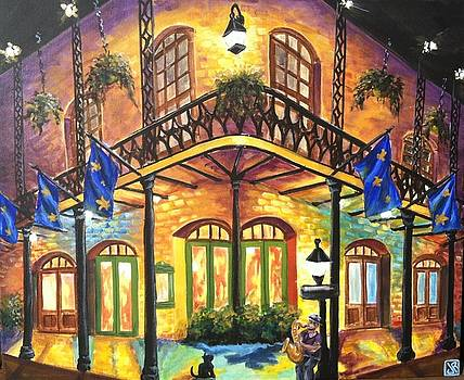 French Quarter rhythm and glow by Julie Ross