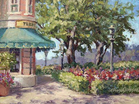 French Stroll by L Diane Johnson
