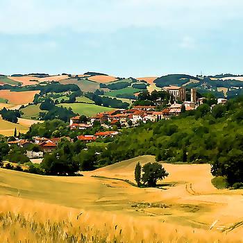 French Village  II by Gareth Davies
