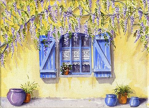 French Window by Frances Evans