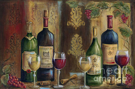 French Wine Tasting by Marilyn Dunlap