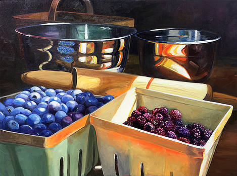 Fresh Berries by Kathy Armstrong
