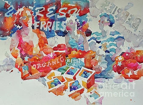 Fresh Berries by Roger Parent