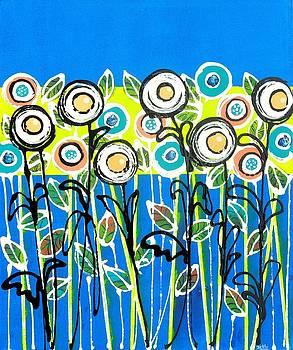 Graciela Bello - Fresh Blue Flowers