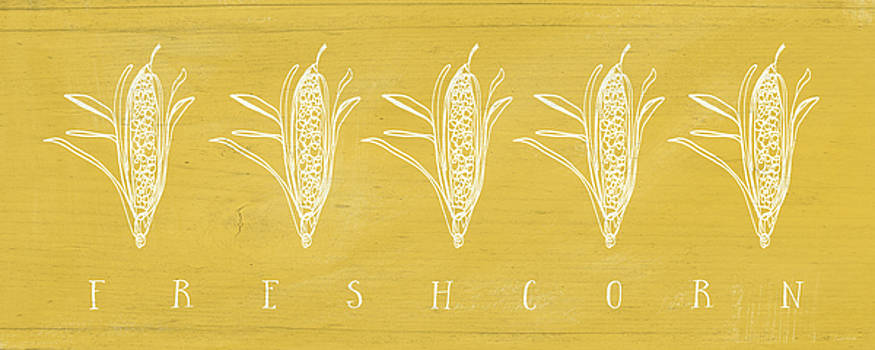 Fresh Corn- Art by Linda Woods by