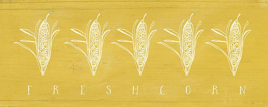 Fresh Corn- Art by Linda Woods by