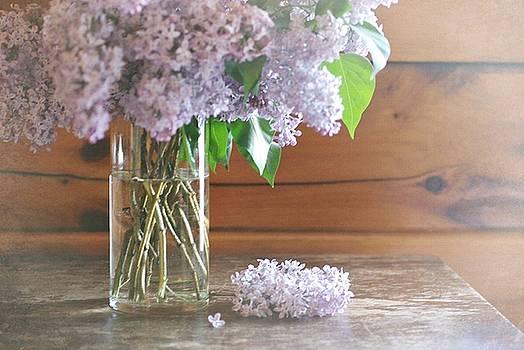 Fresh Cut Lilacs by Stephanie Calhoun