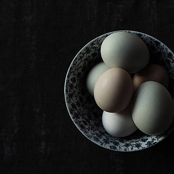 Fresh eggs by Beverly Cazzell