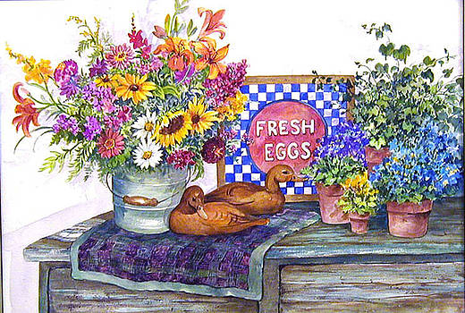 Fresh Eggs by Lois Mountz
