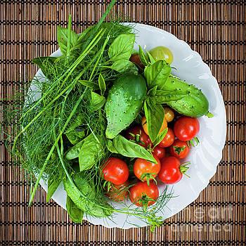 Fresh garden vegetables by Elena Elisseeva