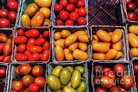 Fresh Grape Tomatoes by Thomas Marchessault