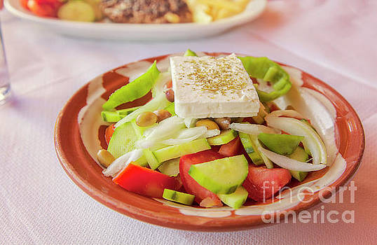 Sophie McAulay - Fresh greek salad