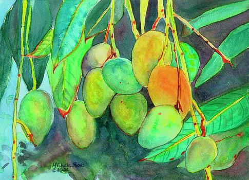 Fresh Mangos by Michele Ross
