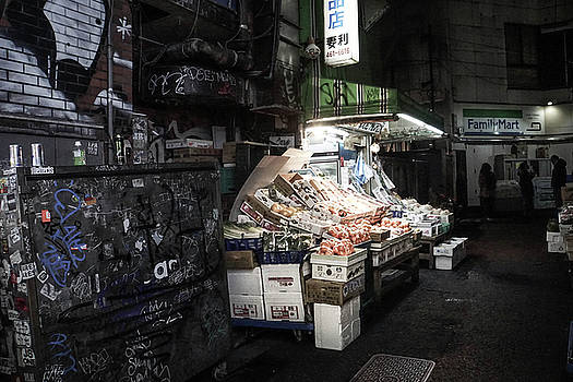 Fresh Produce in a Dark Alley by Paki O'Meara