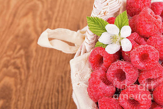 Fresh Raspberries by Sari ONeal