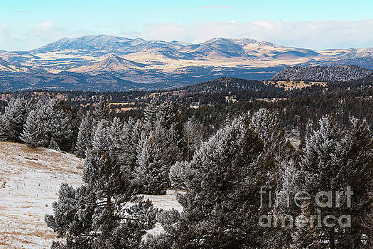 Steve Krull - Fresh Snow in Cripple Creek