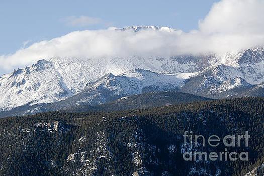 Steve Krull - Fresh Snow on Pikes Peak Colorado