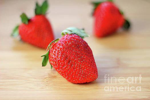 Fresh Strawberries 2018 by Darren Fisher