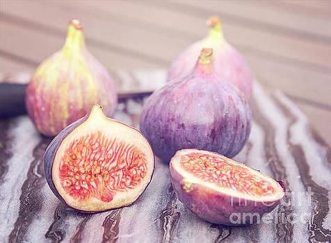 Sophie McAulay - Freshly cut figs