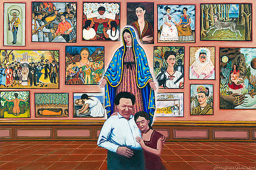 Frida and Diego by James Roderick