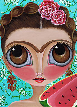 Frida and the Watermelon by Jaz Higgins