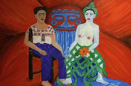 Frida in Mictlan by Gabrielle Pescador