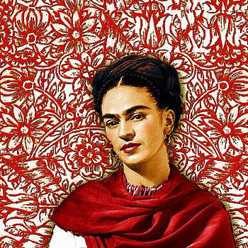 Frida Kahlo 2 by Tony Rubino