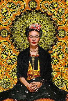 Frida Kahlo 3 by Tony Rubino