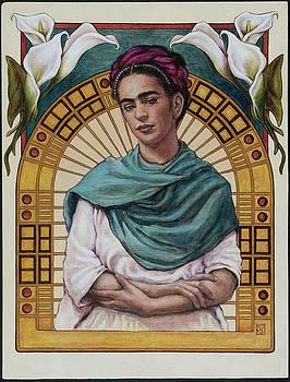 Frida Kahlo by Jennifer Soriano