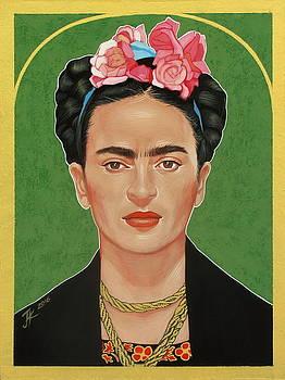 Frida Kahlo by Jovana Kolic